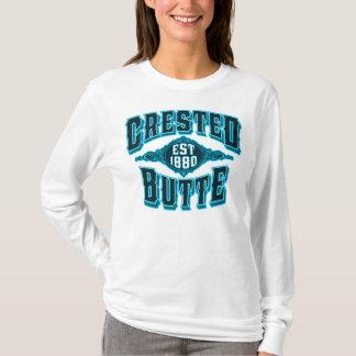 Crested Butte Est 1880 Black Ice T-Shirt