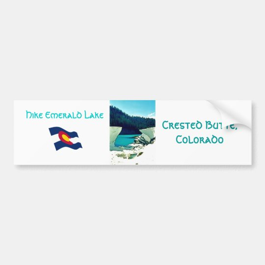Crested Butte Vintage Style Bumper Sticker