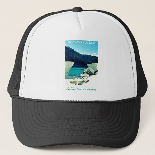 Crested Butte Vintage Style Trucker Hat
