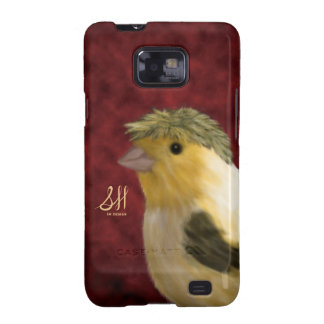 Crested Canary Galaxy S2 Case