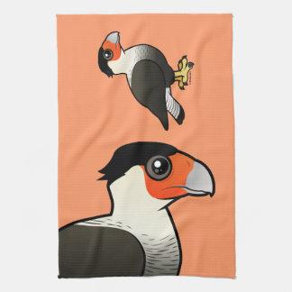 Crested Caracara Towel