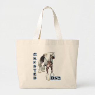 Crested Dad 4 Jumbo Tote Bag