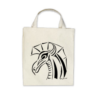 Crested Dragon Bags