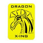 Crested Dragon Magnet Premium