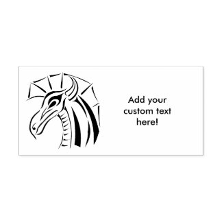 Crested Dragon Self-inking Stamp