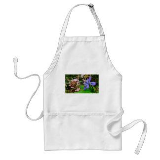 Crested Dwarf Iris Adult Apron