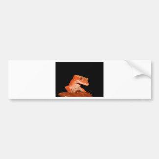 crested gecko bumper sticker