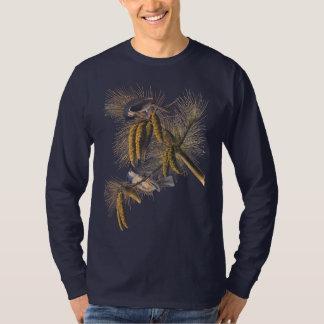 Crested Titmouse Audubon Bird Tee Shirt