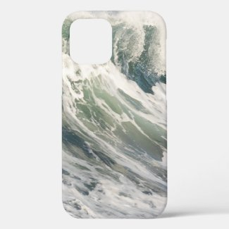 Cresting Ocean Wave iPhone 12 Case