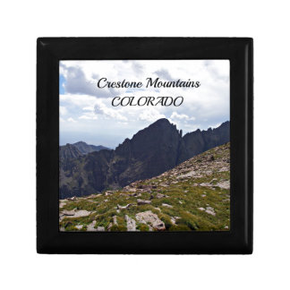 Crestone Mountains, CO Jewelry Box