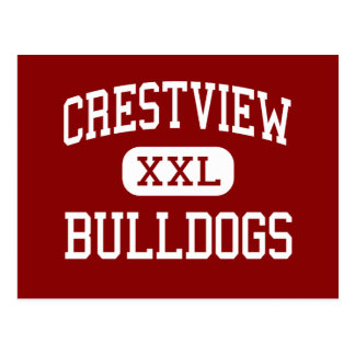 Crestview - Bulldogs - High - Crestview Florida Postcard