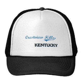 Crestview Hills Kentucky City Classic Mesh Hats