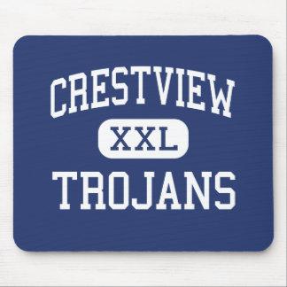 Crestview Trojans Middle Ellisville Missouri Mouse Pad