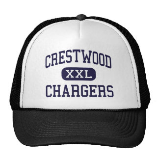 Crestwood - Chargers - High - Dearborn Heights Trucker Hat