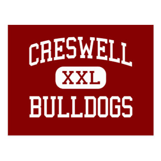 Creswell - Bulldogs - High - Creswell Oregon Postcard
