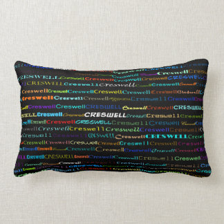 Creswell Text Design I Lumbar Pillow