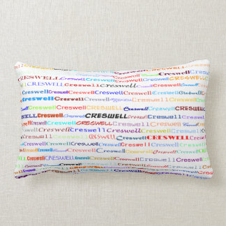Creswell Text Design II Lumbar Pillow