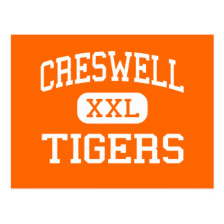 Creswell - Tigers - High - Creswell North Carolina Postcard