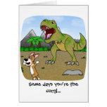 Cretaceous Corgi Card
