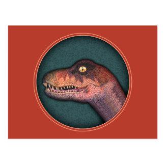 Cretaceous Critter Postcard