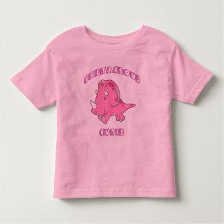 cretaceous cutie copy toddler t-shirt