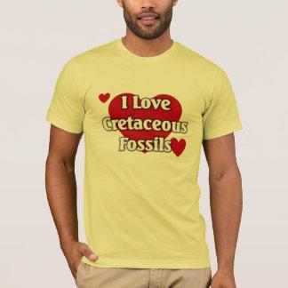 Cretaceous fossils T-Shirt