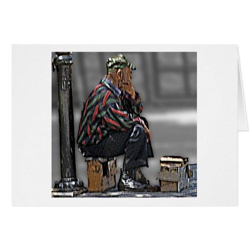 Cretan Shoe Shining (2) Card