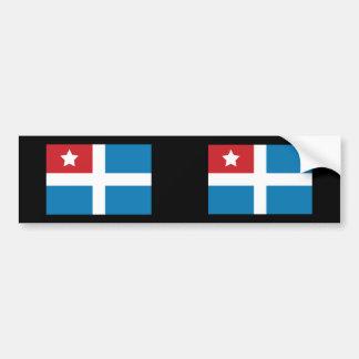 Cretan State, Greece Bumper Sticker