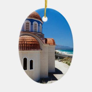 Crete 6 ceramic ornament