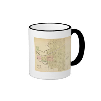 Crete and Saline County, Nebraska Ringer Coffee Mug