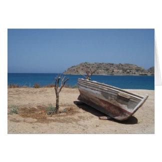 Crete Greeting Card
