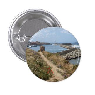 Crete, Chania Button / Badge