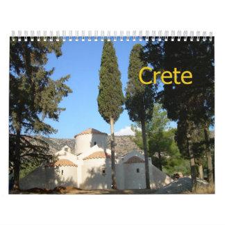 CRETE, GREECE 2013 Wall Calendar