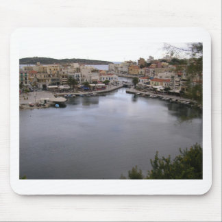 crete, greece mousepads