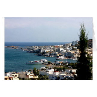 Crete Harbor Card