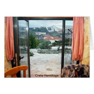 Crete Hermitage Greeting Card