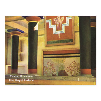 Crete, Knossos The Royal Palace Postcard