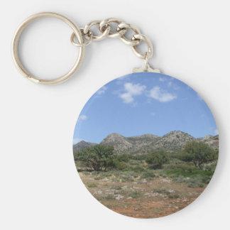 Crete Landscape Keychain