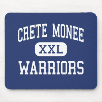 Crete Monee - Warriors - High - Crete Illinois Mouse Pads