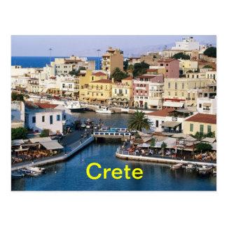 Crete postcard