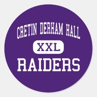 Cretin Derham Hall - Raiders - High - Saint Paul Classic Round Sticker