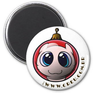 Créu for Xmas 2 Inch Round Magnet