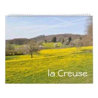 Creuse, Limousin, France 2016 Calendar