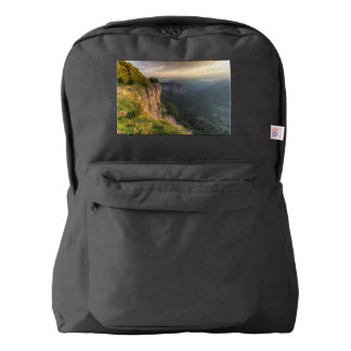 Creux-du-Van rocky cirque, Neuchatel, Switzerland American Apparel™ Backpack
