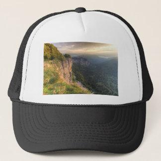 Creux-du-Van rocky cirque, Neuchatel, Switzerland Trucker Hat