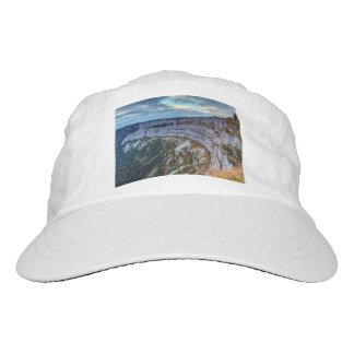 Creux du Van rocky cirque, Switzerland Headsweats Hat