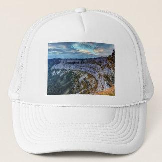 Creux du Van rocky cirque, Switzerland Trucker Hat