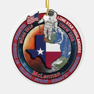 Crew 152B Swag Ceramic Ornament