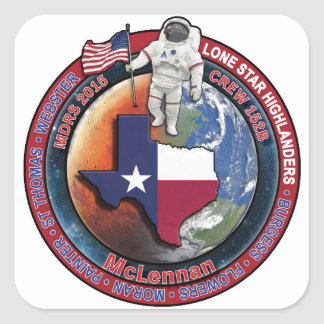 Crew 152B Swag Square Sticker