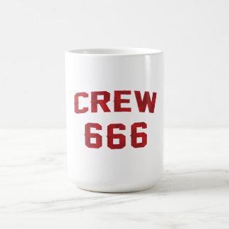 Crew 666 coffee mug